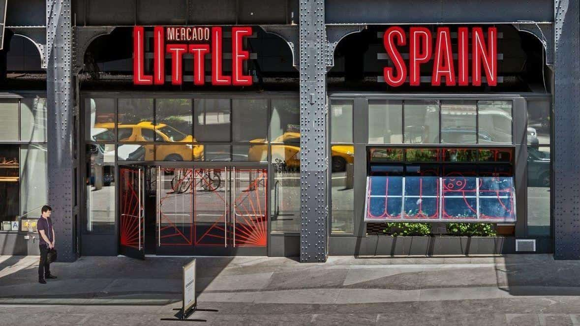 Eat Up your Spanish at Mercado Little Spain - Easy Español