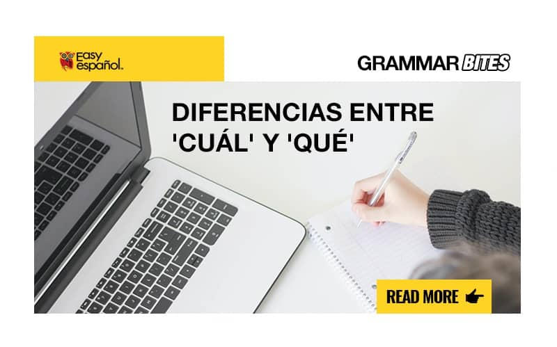 Diferencias entre 'cuál' y 'qué' - Easy Español