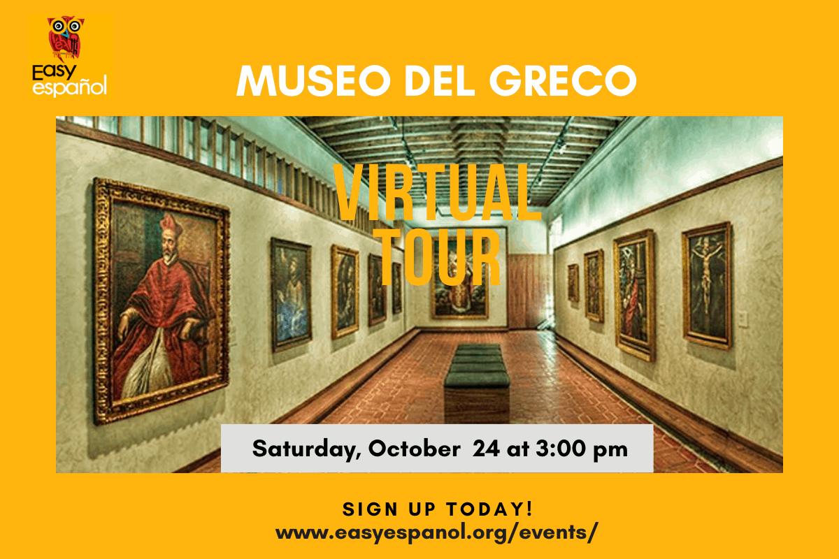 Virtual Tour Museo del Greco - Easy Español