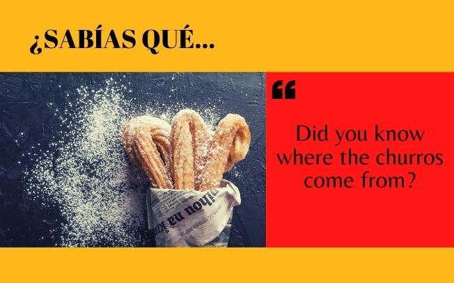 ¿Sabes de dónde vienen los churros? - Easy Español