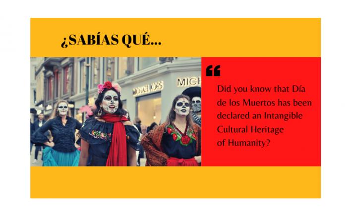 ¿Sabías que el Día de los Muertos es Patrimonio Cultural de la Humanidad? - Easy Español