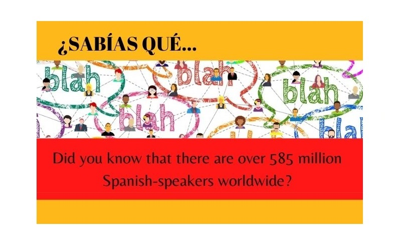 Did you know that there are over 585 million Spanish-speakers worldwide? - Easy Español