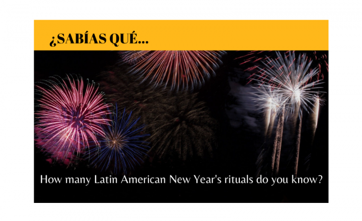 How many Latin American New Year's rituals do you know? - Easy Español