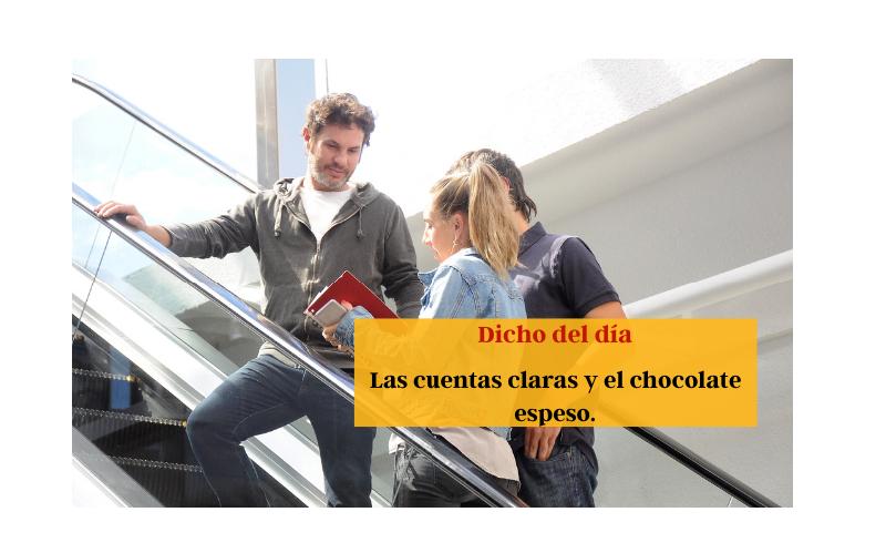 Las cuentas claras y el chocolate espeso - Easy Español