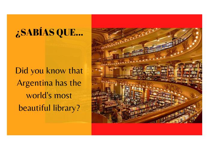 ¿Sabías que Argentina tiene la librería más hermosa del mundo? - Easy Español