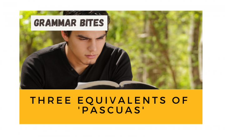 Three equivalents of 'pascuas' - Easy Español