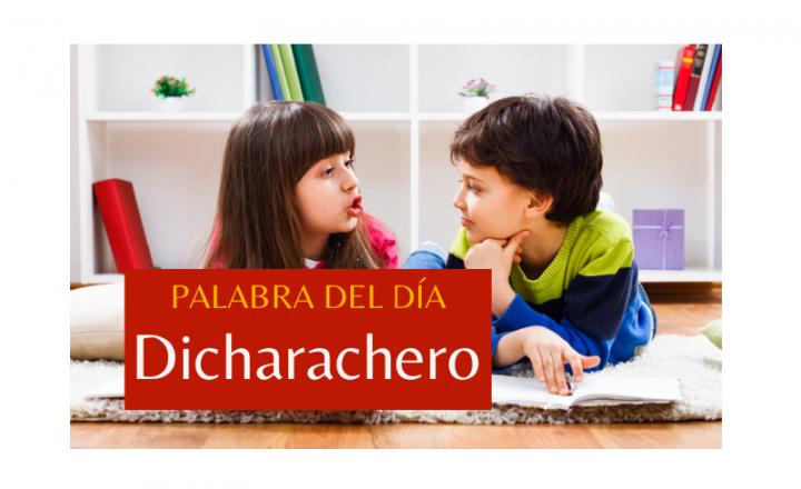 La palabra del día de hoy es: Dicharachero - Easy Español