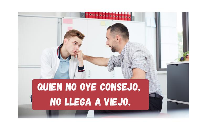 Saying of the day: Quien no oye consejo, no llega a viejo - Easy Español