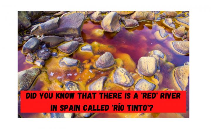 ¿Sabías que hay un río 'rojo' en España llamado 'Río tinto'? - Easy Español