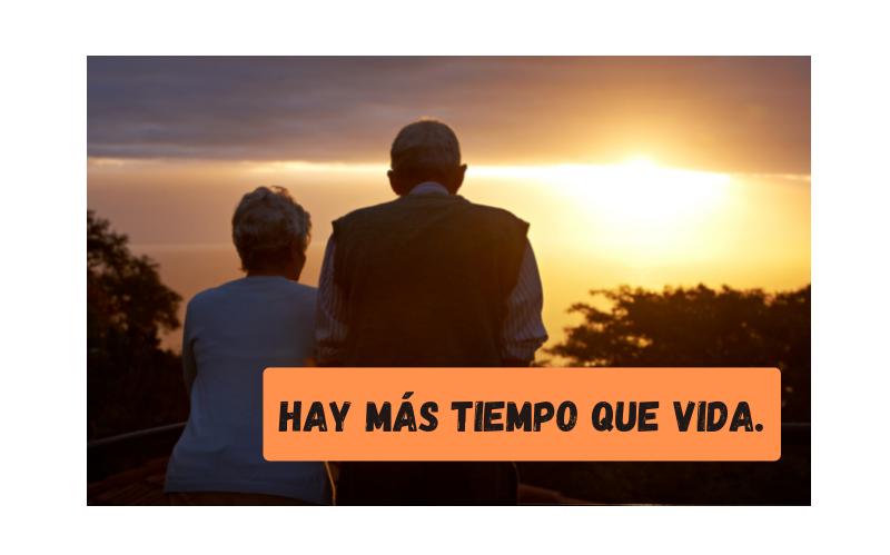 Saying of the day: Hay más tiempo que vida - Easy Español