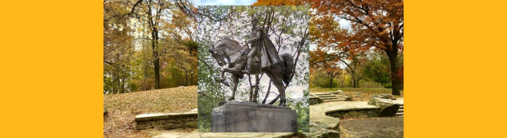 ¿Sabías que el monumento de Simón Bolívar en Central Park se encontraba originalmente en Summit Rock? - Easy Español